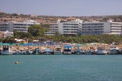 napa της Κύπρου agia Στοκ Εικόνα