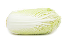 Napa cabbage, isolated. On a white background stock photo