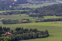 napa krajobrazowa dolina Zdjęcie Royalty Free