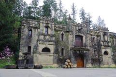 Lagar de Montelena del castillo francés en Napa Valley, California Foto de archivo libre de regalías