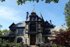 The Rhine house at Beringer winery in Napa Valley, California Royalty Free Stock Photos
