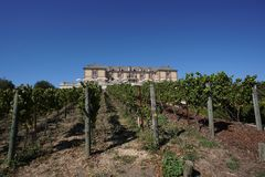 Domaine Carneros Winery in Napa Valley Royalty Free Stock Photography