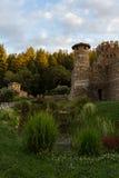 Napa Valley Castle Stock Image