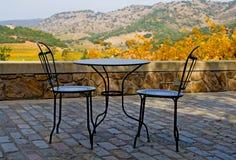 Napa Valley no outono no por do sol foto de stock royalty free