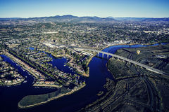 Napa Valley Overview Stock Images