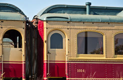 Napa Valley Wine Train. Wine Train, Napa Valley, California Stock Photography