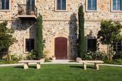Napa Valley Winery royalty free stock photo
