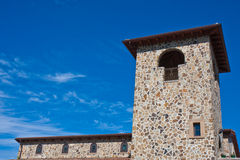 Napa Valley Winery Tower. Tower at a Napa Valley Winery, California Royalty Free Stock Photos