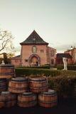 Napa- Valleyweinkellerei Lizenzfreie Stockbilder