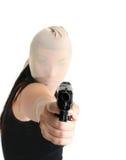 napad z bronią w ręku Obrazy Stock