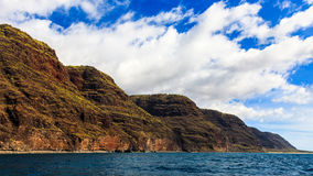 Napali Coast Hills Royalty Free Stock Images