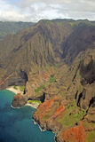 Napali Coast - Island of Kauai, Hawaii Stock Photography