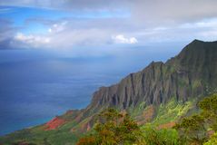 Napali coast, Kauai, Hawaii Royalty Free Stock Images