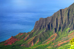 Napali Coast of Kauai Hawaii Royalty Free Stock Image