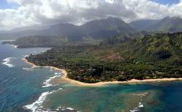 Napali Coast in Kauai Stock Photos