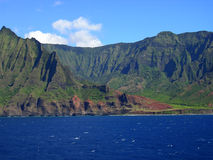 Napali coastline Royalty Free Stock Images