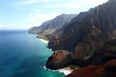 Napali coastline Stock Photos