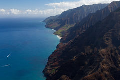 Napali Coastline Royalty Free Stock Image
