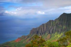 napali d'Hawaï Kauai de côte Images libres de droits