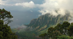 napali kauai свободного полета Стоковое Изображение