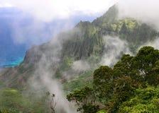napali kauai свободного полета Стоковое Фото