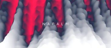 Napalmów oparzenie 8 abstrakcjonistyczny dodatkowy tła dynamicznego skutka eps format Modni gradienty Może używać dla reklamować, ilustracja wektor