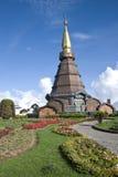Napametaneedol pagoda on top of mountain, Thailand Stock Images