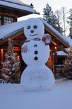 Napapiiri Arktyczny okrąg, Rovaniemi Finlandia Święty Mikołaj wioska zdjęcia royalty free