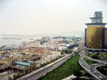 NAPE Macau Fisherman's Wharf area on the coast Royalty Free Stock Image