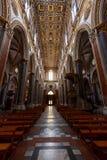 Napels, de kerk van San Domenico maggiore royalty-vrije stock afbeeldingen