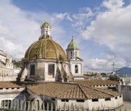 Napels, historisch stad gevestigd zuiden van Italië Royalty-vrije Stock Afbeeldingen