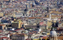 Napels, Italië, meningspanorama Stock Foto