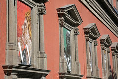 Napels, Italië, 02/21/2017: Napels Nationale Archeologische Mus Stock Afbeelding