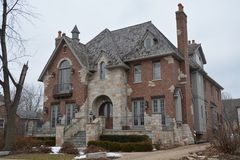 Naperville Mansion Stock Images