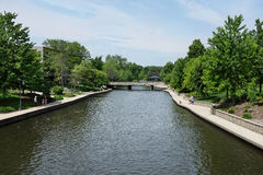 Naperville Riverwalk Stock Photography