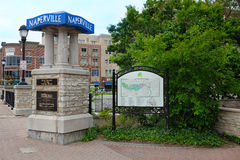 Naperville Riverwalk Royalty Free Stock Image