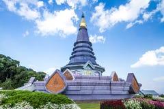 Naphapholphumisiri-Pagode chiangmai Thailand Stockbild