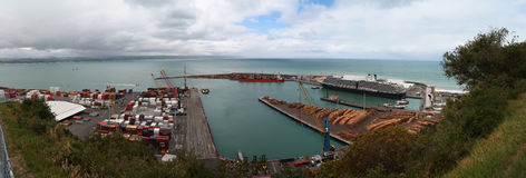 Napier harbour Royalty Free Stock Image