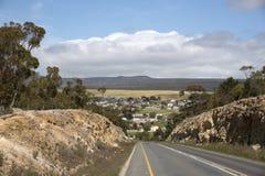 Napier liten stad i Overberg Sydafrika Royaltyfri Foto