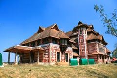 Napier museum i Trivandrum, Kerala Arkivfoton