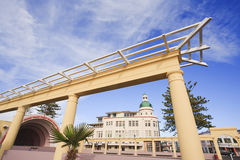 Napier New Zealand Art Deco Royalty Free Stock Photo