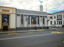 Traditional architecture in Napier Royalty Free Stock Images