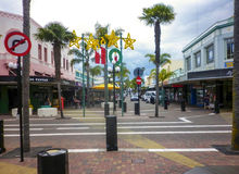 NAPIER, NEW ZEALAND - Circa 2014- Traditional architecture in Napier Stock Images