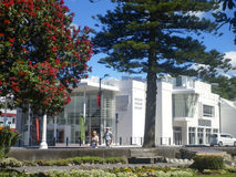 NAPIER, NEW ZEALAND - Circa 2014- Traditional architecture in Napier Royalty Free Stock Photo