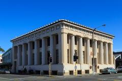 Napier, Nova Zelândia O prédio de escritórios da confiança pública, terminado em 1922 imagem de stock
