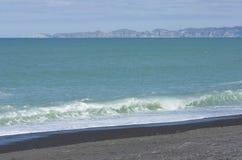 Napier plaża Zdjęcia Royalty Free
