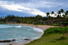 Napili bay Royalty Free Stock Photography