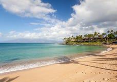 Napili beach maui. Napili bay beach maui in bright sunny afternoon Stock Photo