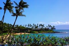 Napili Beach Maui Hawaii Royalty Free Stock Photos