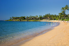 Napili Beach, west coast of Maui, Hawaii Stock Photos